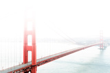 Golden Gate Bridge in the Fog Fotodruck von  prochasson