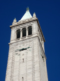 California Campanile Clock Tower, the Sather Tower Photographic Print by  EricBVD