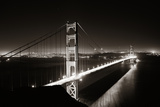 Golden Gate Bridge in San Francisco as the Famous Landmark. Print by Songquan Deng