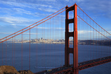 View of Famous Golden Gate Bridge Fotodruck von  prochasson