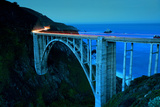 Bixby Bridge as the Famous Landmark in Big Sur California. Photo by Songquan Deng
