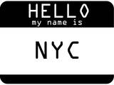 My Name Is Nyc Prints