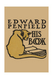 Bookplate of Artist Edward Penfield Poster by Edward Penfield