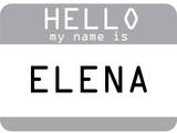 My Name Is Elena Posters