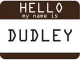 My Name Is Dudley Art