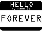 My Name Is Forever Poster