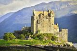 Eilean Donan Castle, Scotland Photographic Print by  meunierd