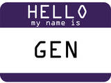 My Name Is Gen Prints