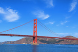 Panoramic View of Famous Golden Gate Bridge Fotodruck von  prochasson