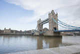 Tower Bridge and the River Thames; London; UK Photographic Print by  Nosnibor137