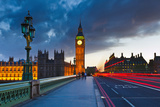 Big Ben at Night, London Photographic Print by  sborisov