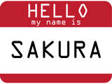 My Name Is Sakura Posters