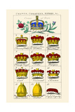 Crowns, Coronets and Mitres Art by Hugh Clark