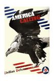 America Calling Posters by Herbert Matter