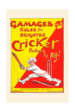 Gamages Rules for Brighter Cricket Art
