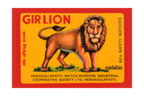 Gir Lion Kunstdruck