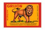 Gir Lion Print