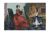 One More Time at the Piano Prints by Charles Butler
