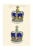 Regalia of England - Crowns Posters by Hugh Clark