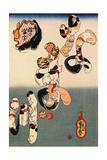 Catfish Posters by Kuniyoshi Utagawa