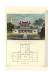 Chinese Residence Prints by Richard Brown