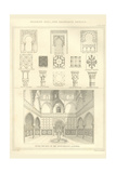 Moorish Hall and Arabesque Prints by Richard Brown