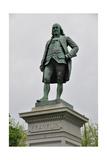 Benjamin Franklin Monument Print