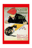 1897 Poster Calendar Print by Edward Penfield