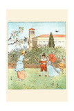 Along Came a Blackbird and Popped Off Her Nose Posters by Randolph Caldecott