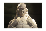 Benjamin Franklin Statue at National Portrait Gallery Poster by Billy Hathorn