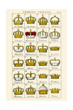 Foreign Crowns Posters by Hugh Clark