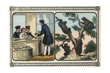 Children Visit the Shoemaker Affischer av Charles Butler