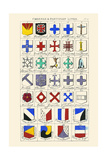 Crosses and Partition Lines Poster by Hugh Clark