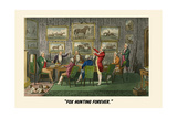 Fox Hunting Forever Prints by Henry Thomas Alken