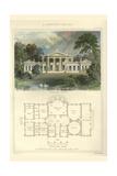Greek Villa Print by Richard Brown