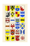 Heraldry - Blazonry Art by Hugh Clark
