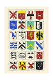 Heraldry - Blazonry Poster by Hugh Clark