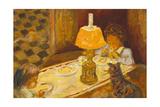 Les Dejeuner Des Enfants Kunstdrucke von Pierre Bonnard