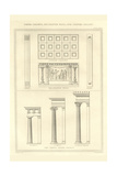 Greek Columns, Decorated Walls and Coffer Ceilings Prints by Richard Brown