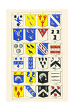 Heraldry - Blazonry Prints by Hugh Clark