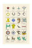 Heraldry - Charges Posters by Hugh Clark