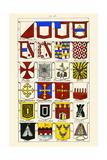 Heraldry Posters by Hugh Clark