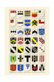 Heraldry - Blazonry Art by Hugh Clark