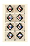 Heraldry - Hatchments Print by Hugh Clark