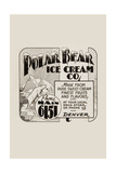 Polar Bear Ice Cream Company Art