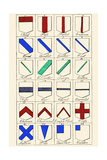 Heraldry Ordinaries Prints by Hugh Clark