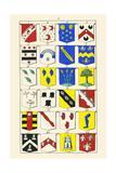 Heraldry - Blazonry Print by Hugh Clark