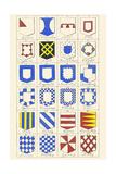 Heraldry Sub-Ordinaries Posters by Hugh Clark