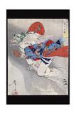Ibaraki of Rashomon Posters by Taiso Yoshitoshi