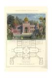 Morisco-Spanish Palatial Building Prints by Richard Brown